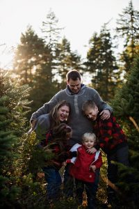 Family photography session in Qualicum Beach